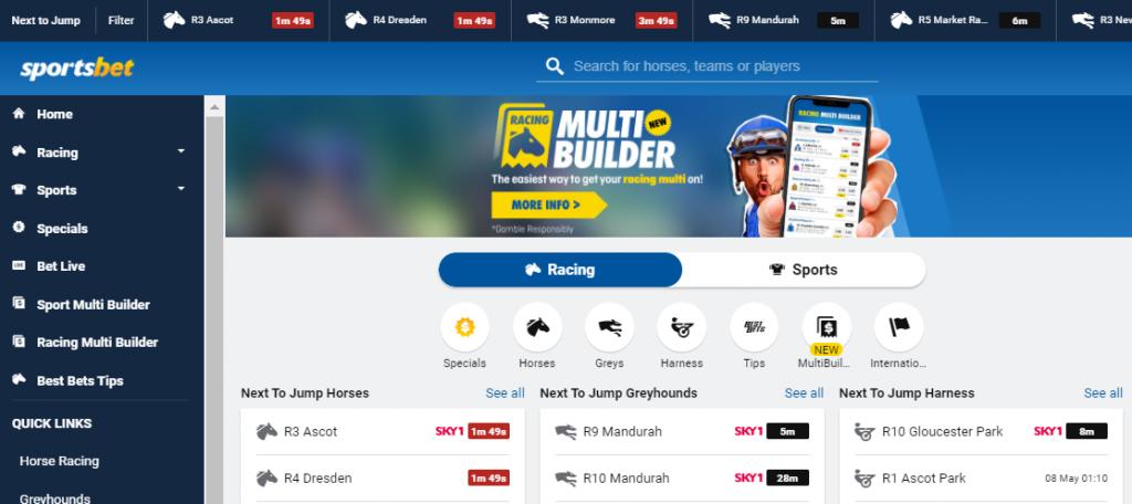 Sportsbet betting offers