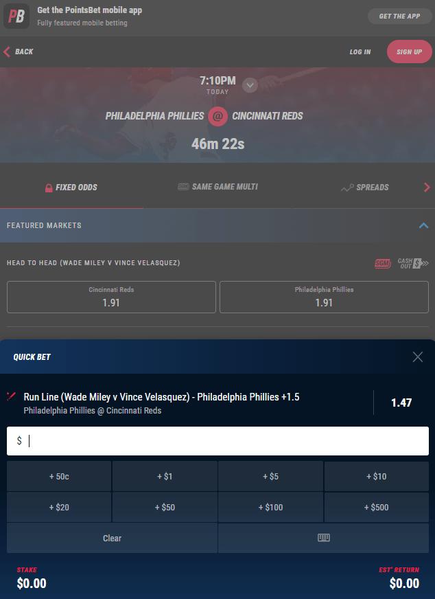 sports spread betting in australia