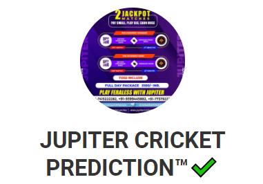 jupiter cricket prediction telegram