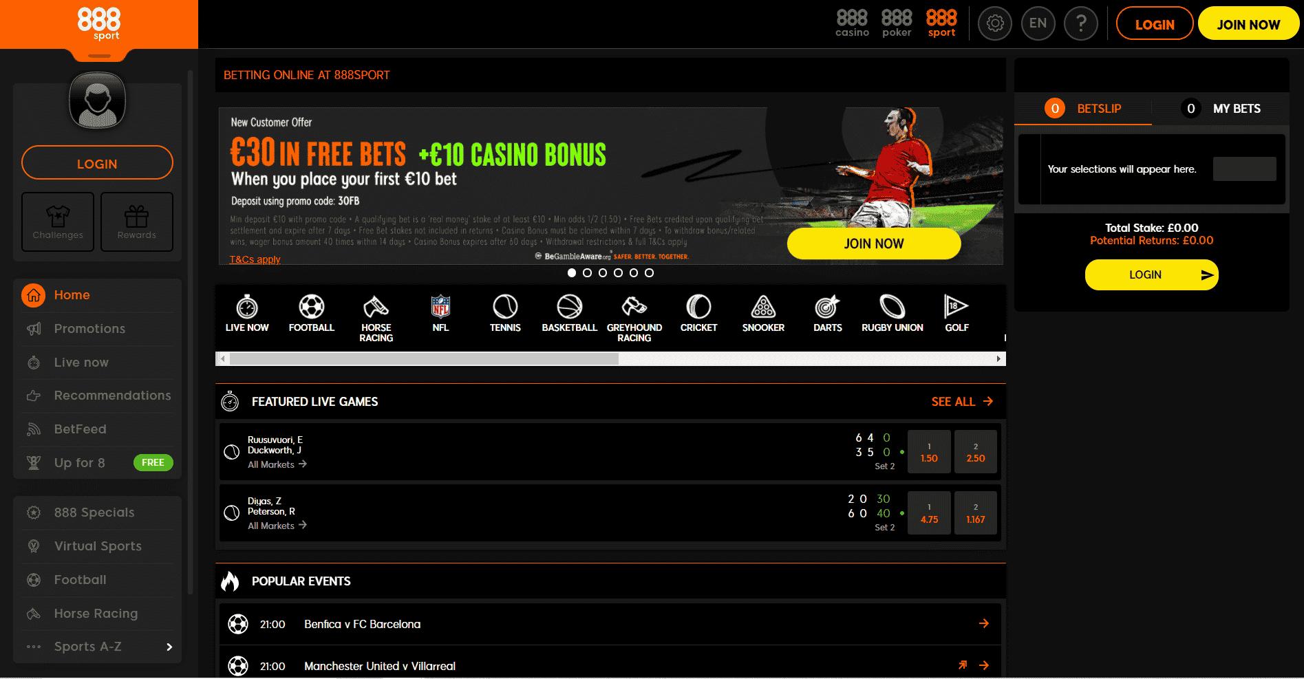 horse racing betting - 888sport