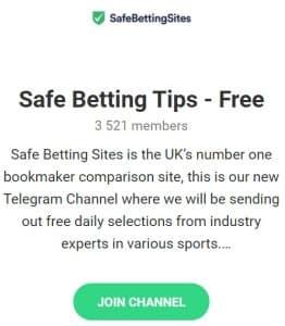 SafeBettingSites telegram