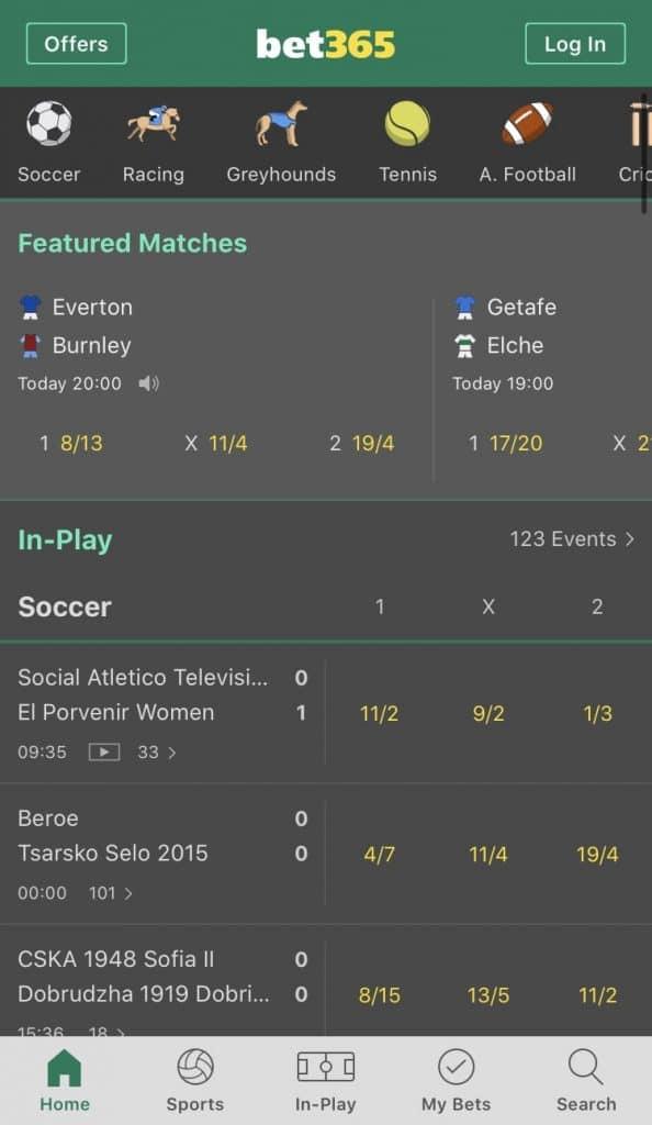bet365 betting app