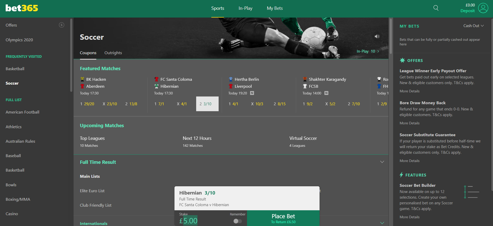 Qatar betting sites - bet placement
