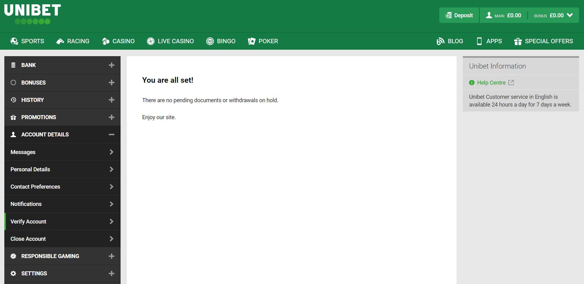 Saudi betting sites - ID verification