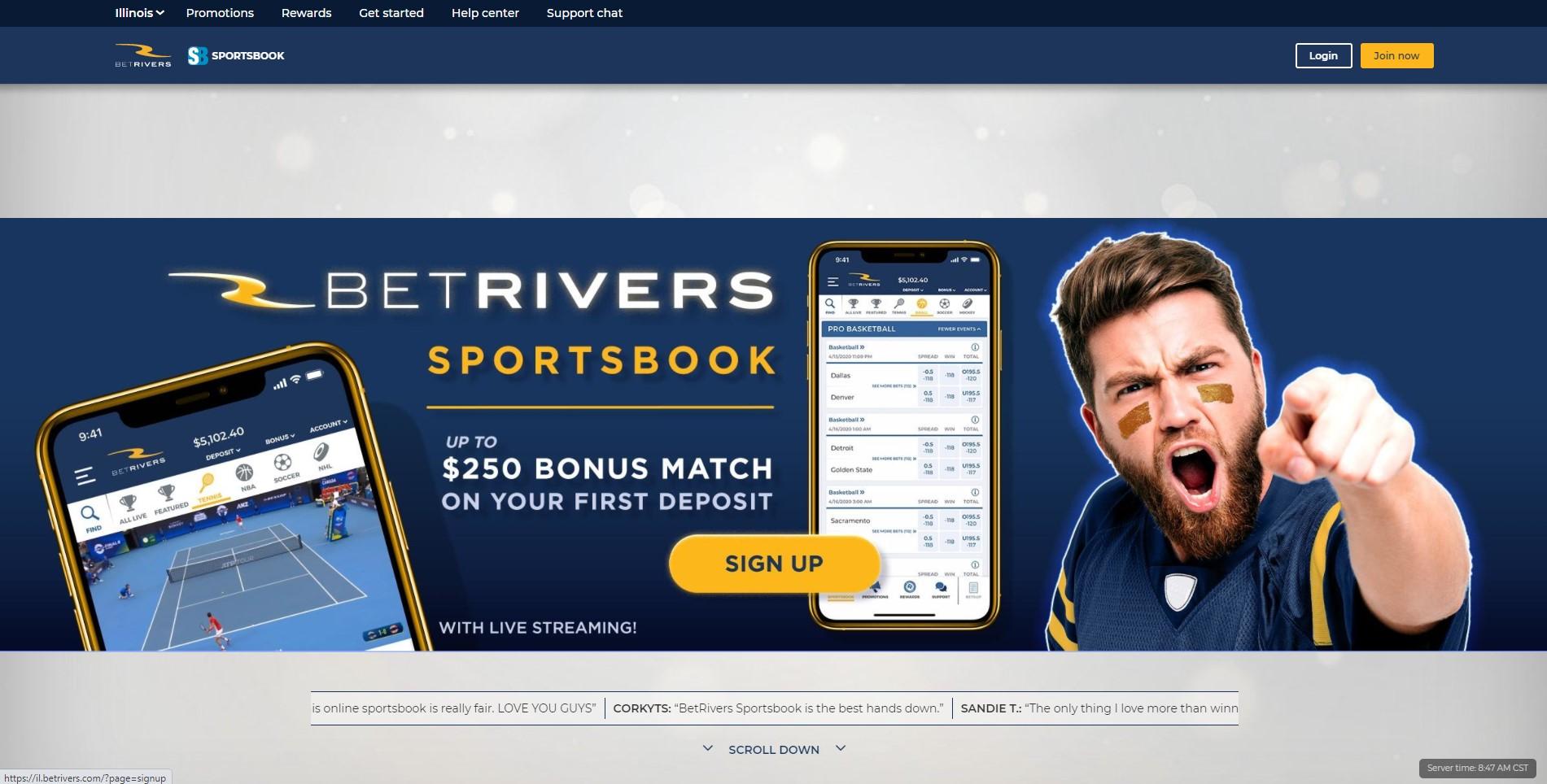 betrivers homepage