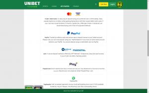 unibet payment