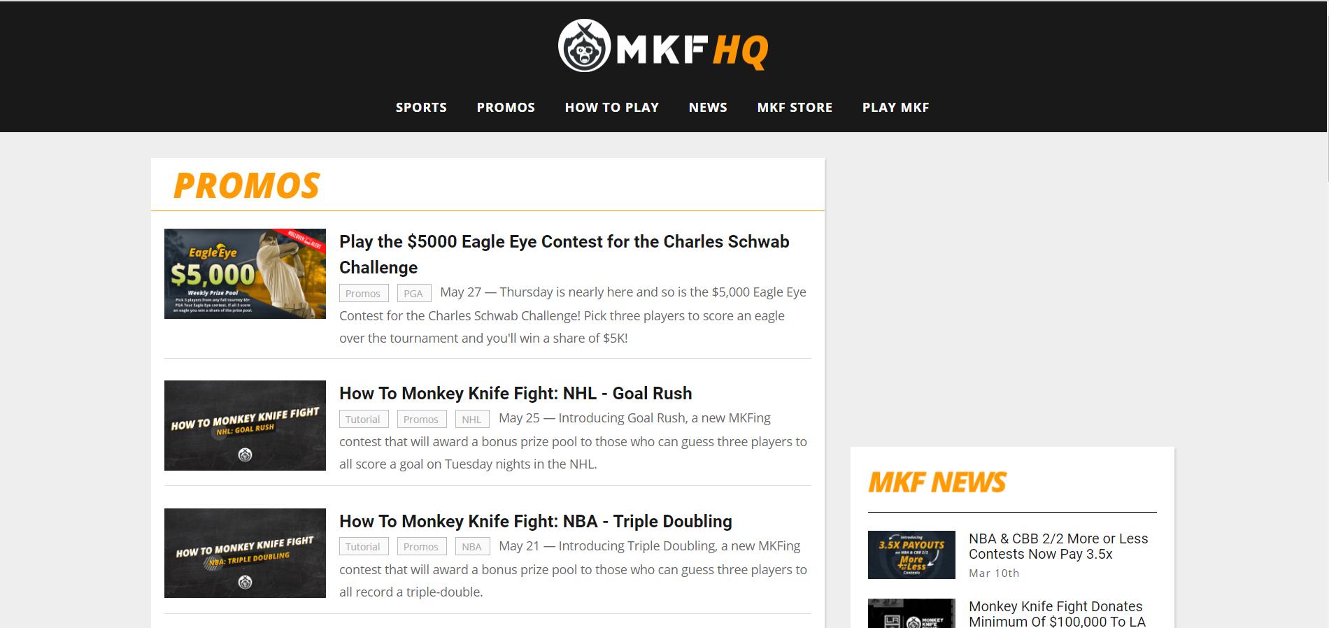 Monkey Knife Fight HQ