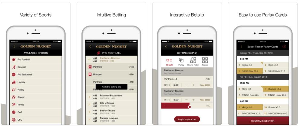 Golden Nugget App