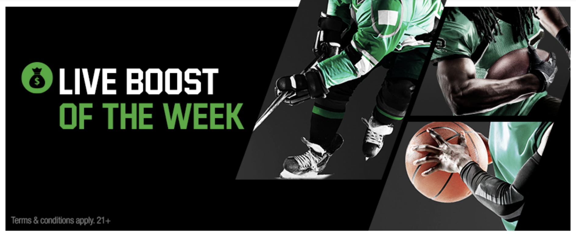 Unibet Sportsbook - Daily Boosts Promo