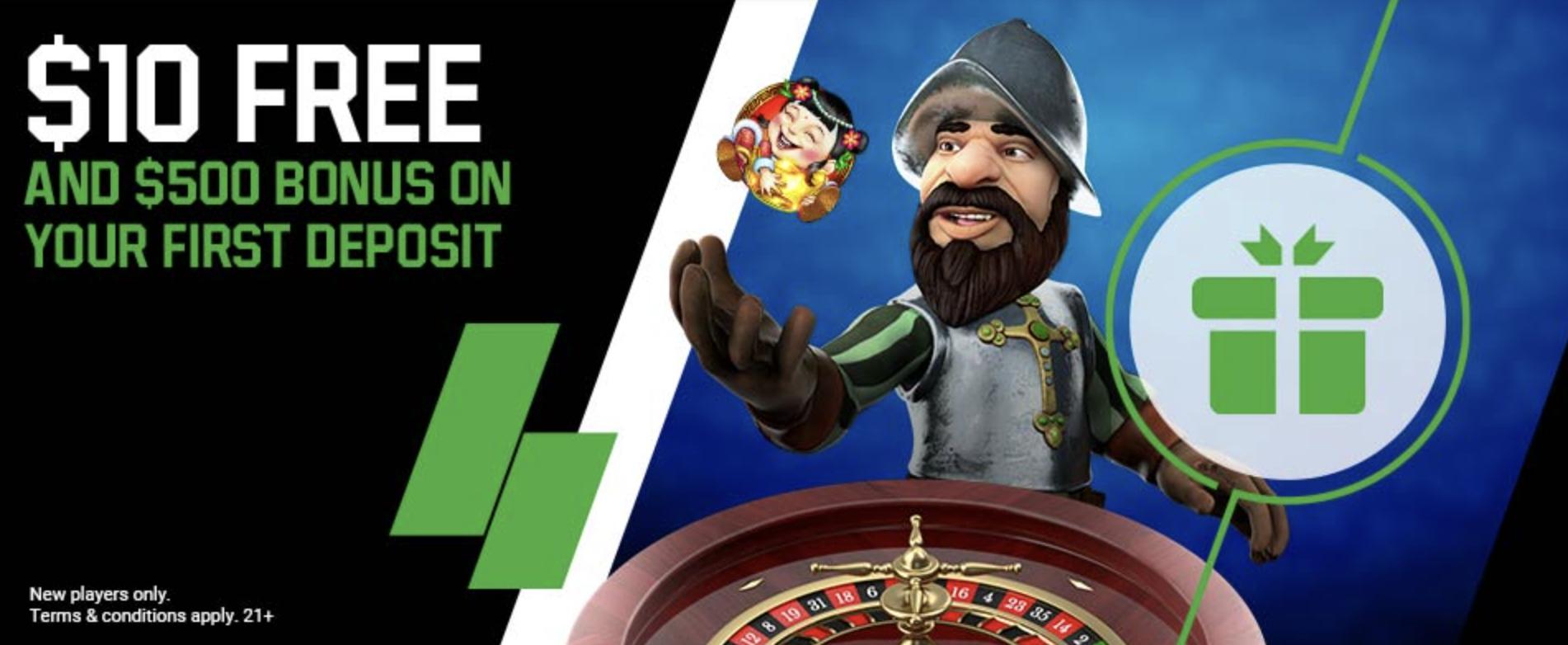 Unibet Online Casino - Welcome Offer
