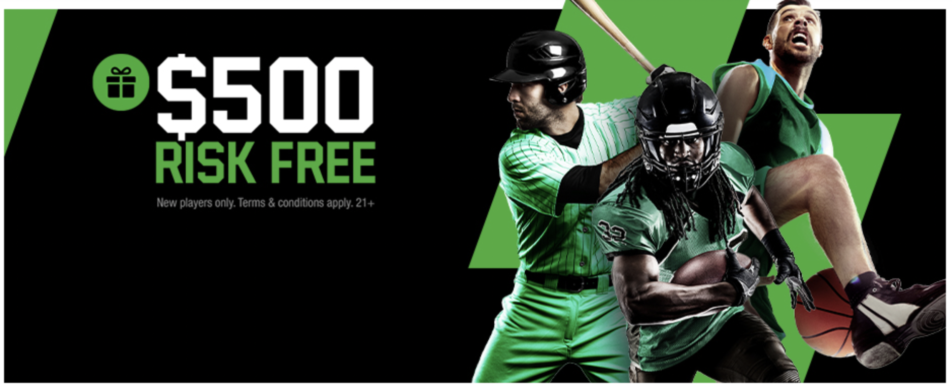Unibet - Sportsbook - $500 Risk-Free Welcome Offer