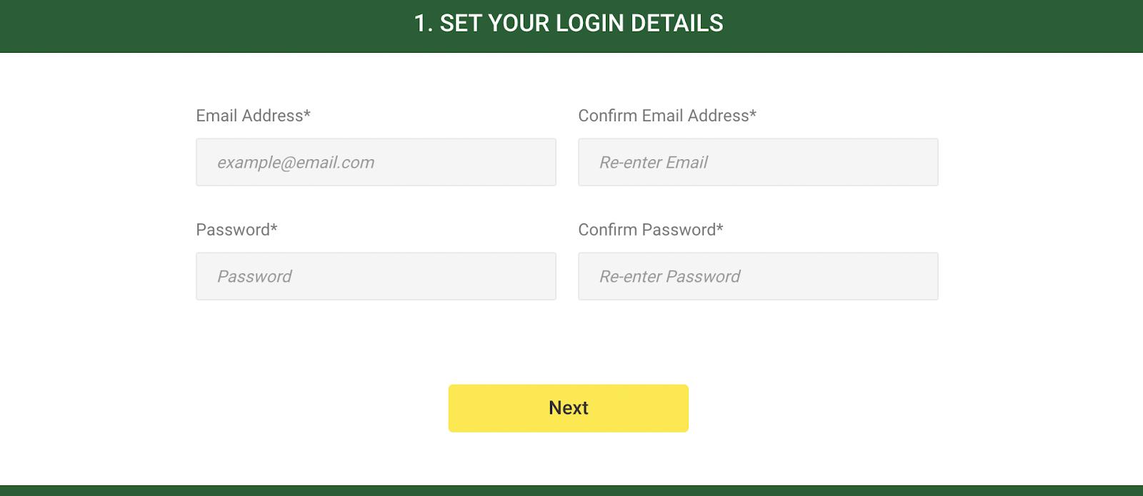 Unibet Online Casino - Login Details
