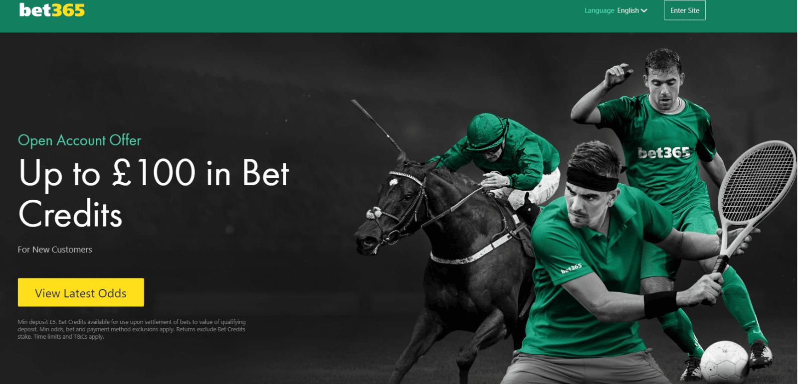 Bet365 tennis betting