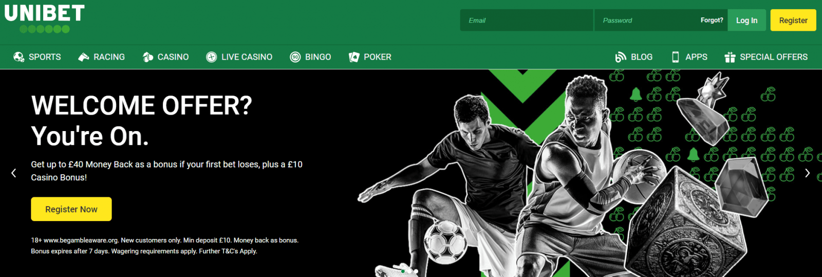 live streaming betting sites Unibet