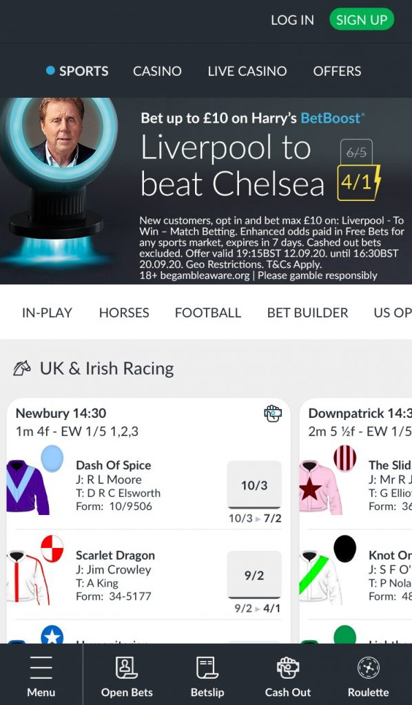 Betvictor Mobile Betting App