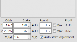 arbitrage betting calculator