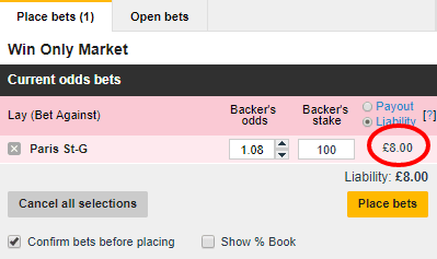 About lay betting sites back and lay meaning in cricket betting rates