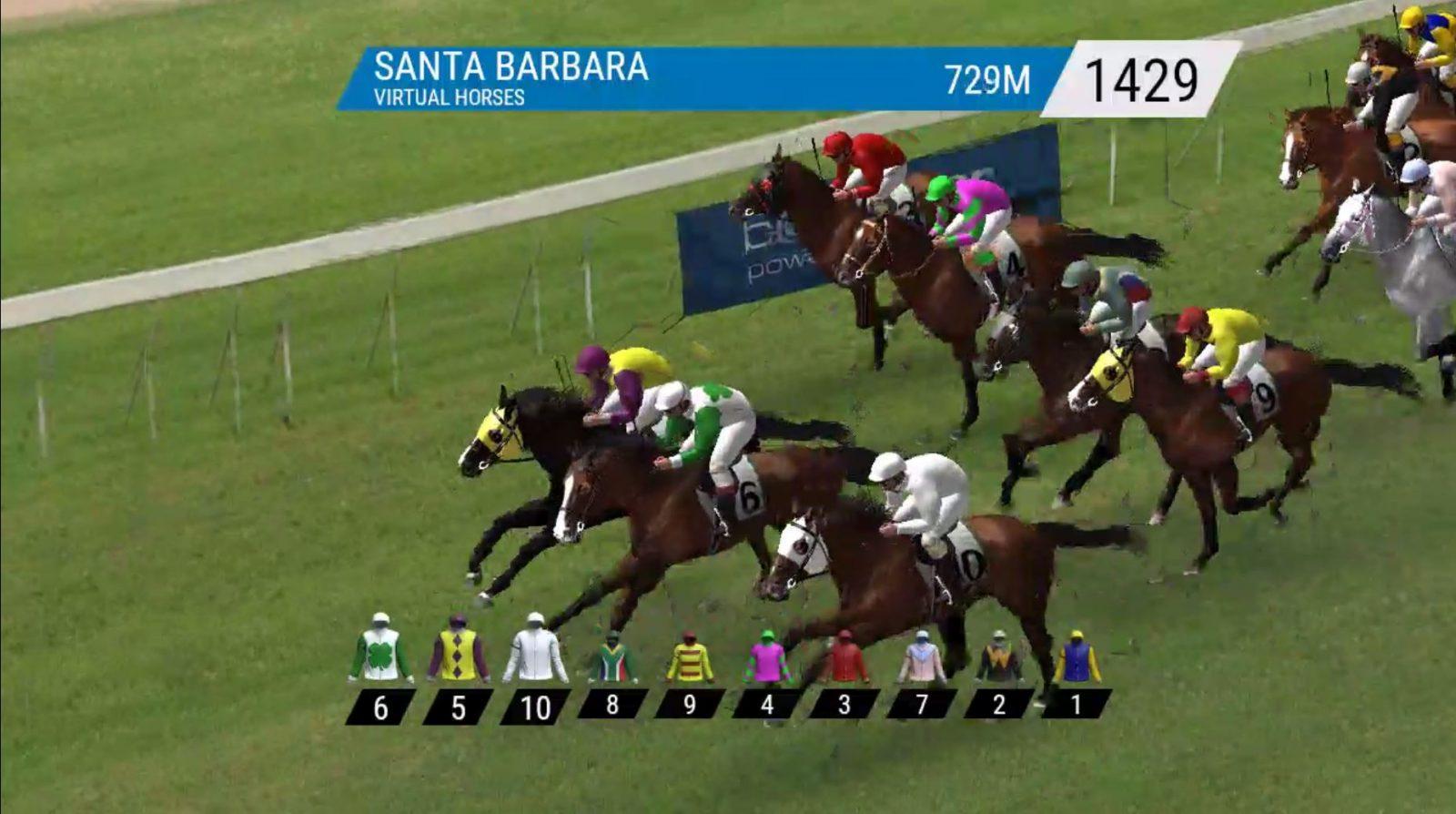 betradar virtual horse racing
