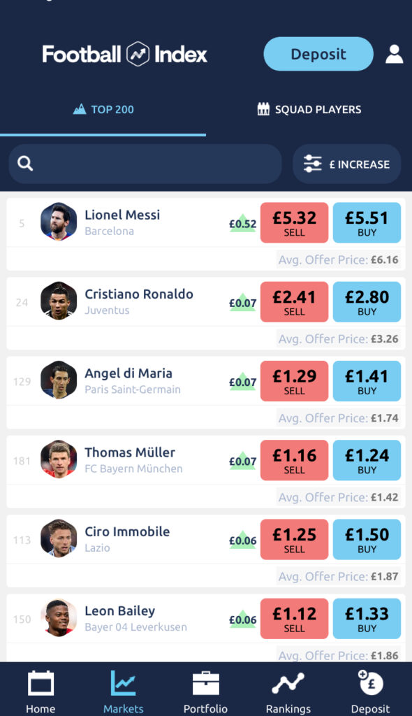 Football Index App