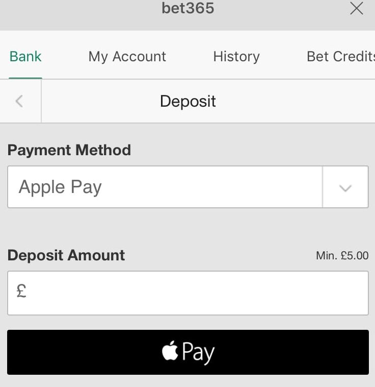 Apple Pay Betting