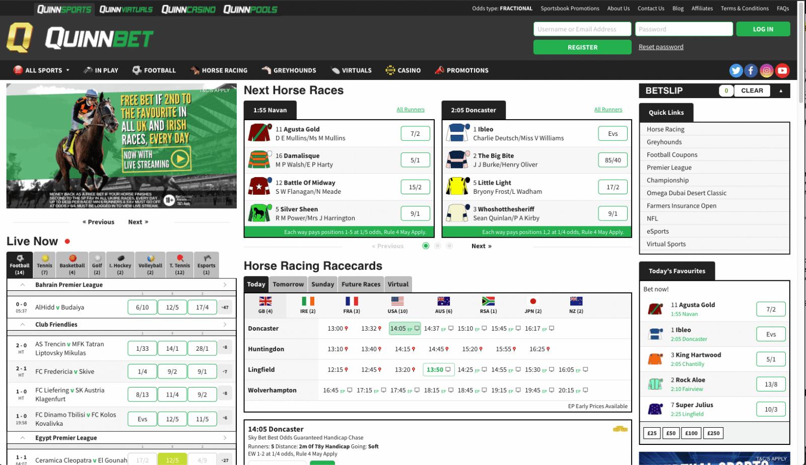 betting sites - QuinnBet