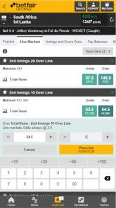 betfair app place bets