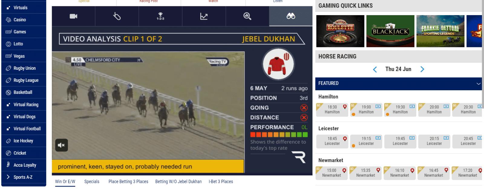 horse racing streaming - boylesports streaming