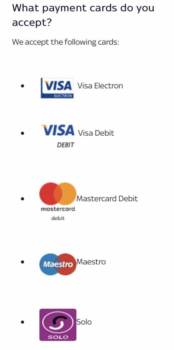 sky bet app review - payment options