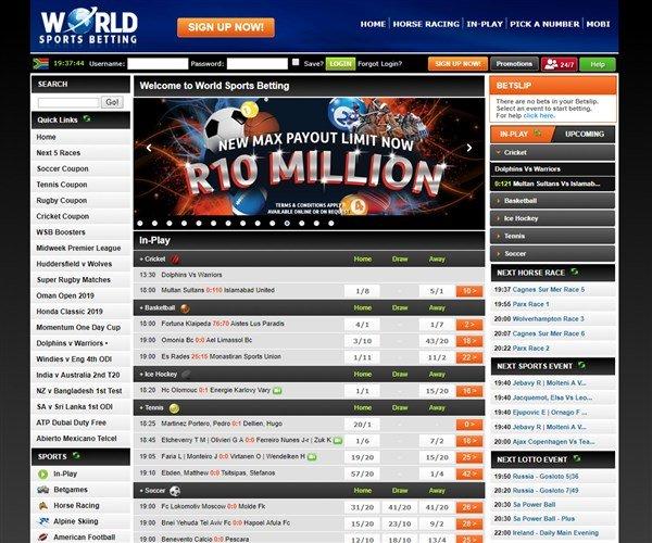 World Sports Betting